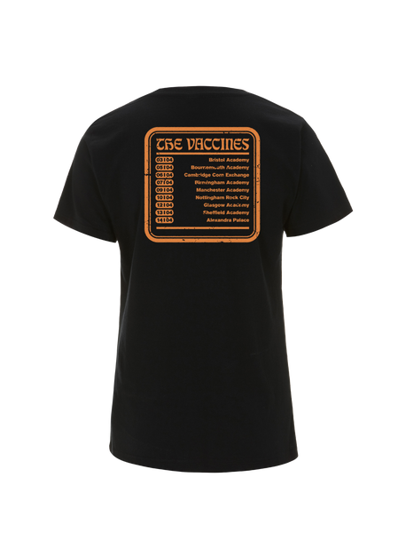 The Vaccines (Combat Sports) Ladies 2018 Spring Tour T-Shirt