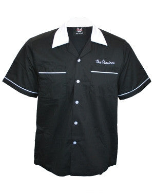 The Vaccines (Bowling Ball American Import) Black/White Bowling Shirt