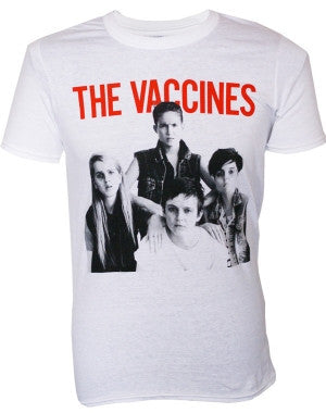 The Vaccines (Come Of Age) White T-Shirt