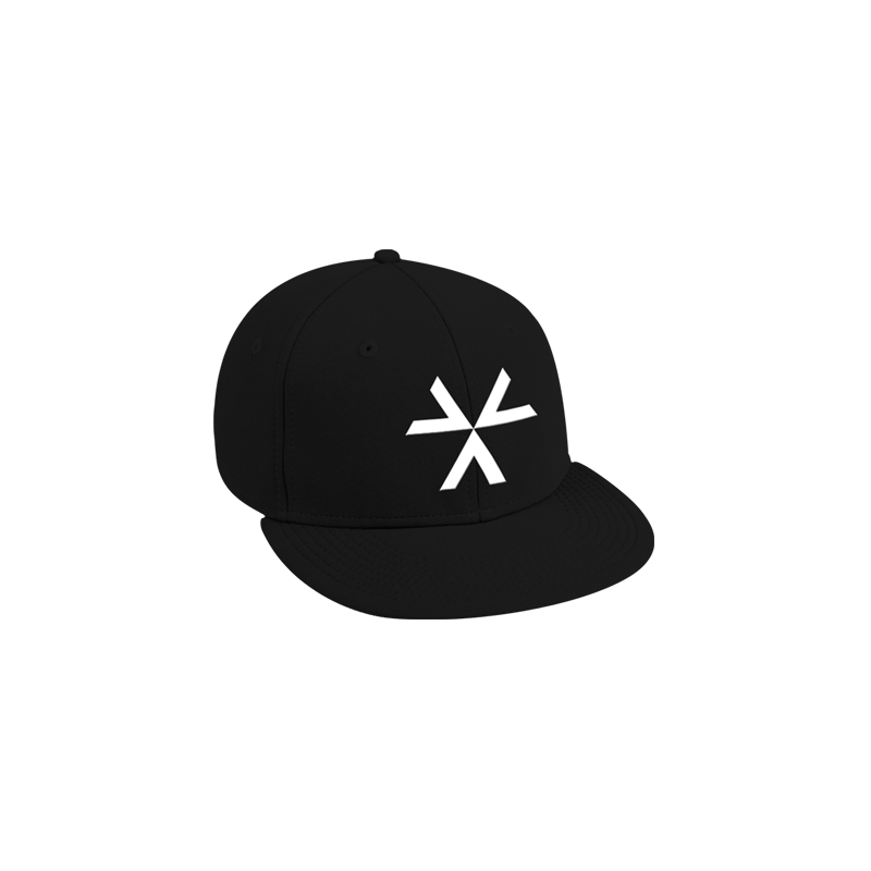 Recover Black Snapback