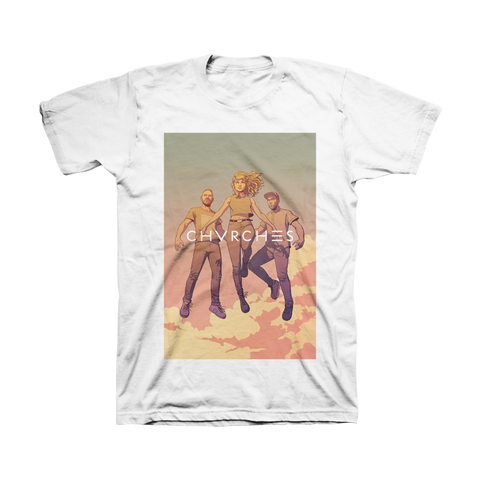 Unisex Levitate T-Shirt (White)