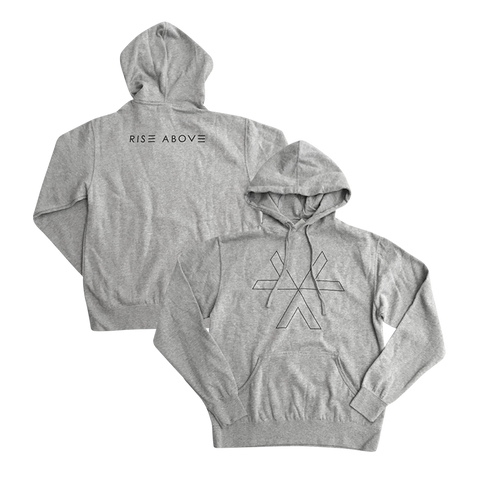 Recover Pullover Hoodie (Heather Grey)