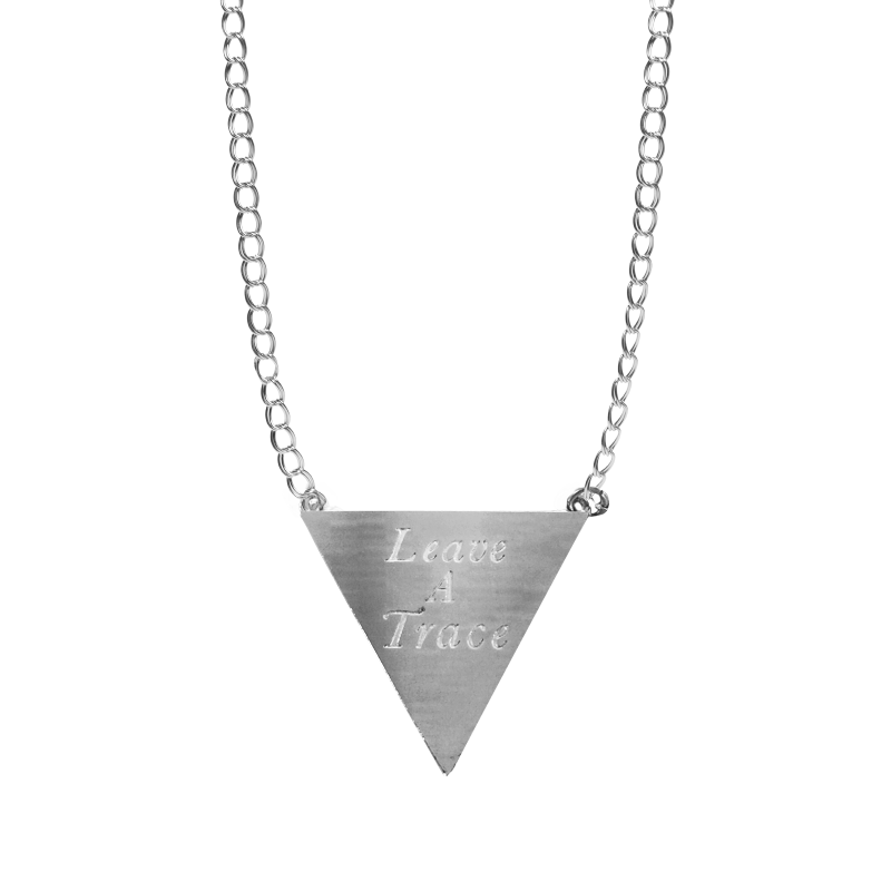 Leave A Trace Necklace