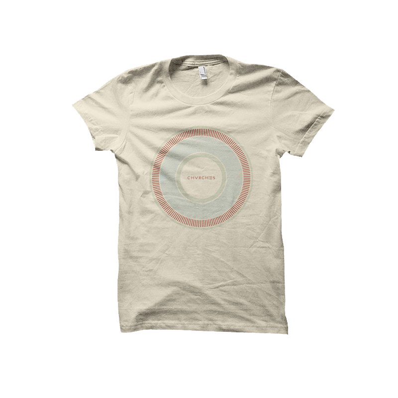 Fitted Circular Dial T-Shirt (Natural)