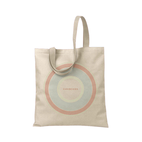 Circular Dial Shopper Bag (Natural)