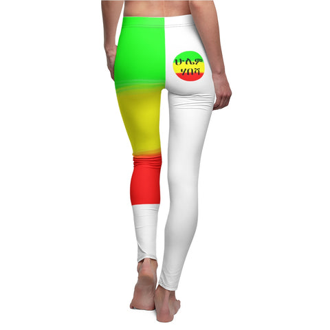 Habesha Forever - Women's Cut & Sew Casual Leggings - African Style Jewelry