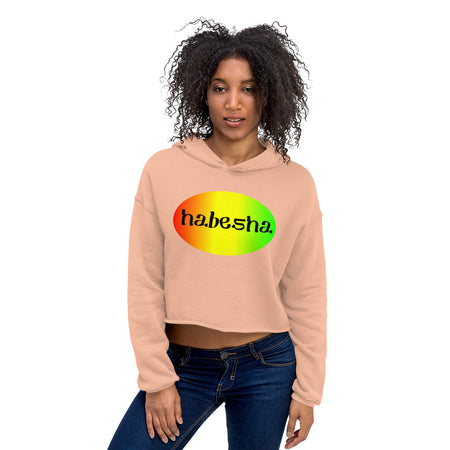 Habesha Forever - Crop Hoodie - African Style Jewelry