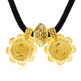 Gold plated Women jewelry set - African Style Jewelry