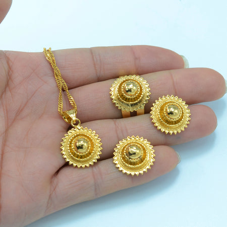 Ethiopian Small set Jewelry - African Style Jewelry