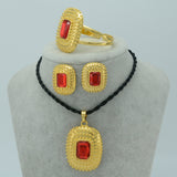 Ethiopian Gold Jewelry Sets - African Style Jewelry
