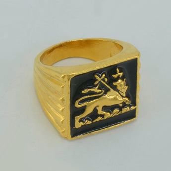Lion King Ring - African Style Jewelry