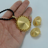 Habesha  Gold Color Set - African Style Jewelry