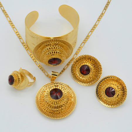 Ethiopian Jewelry set - African Style Jewelry