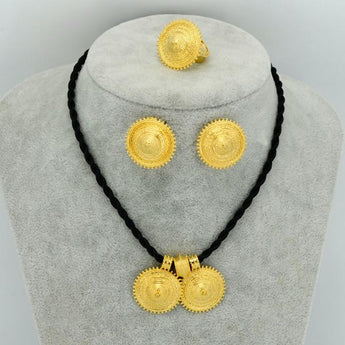 Light Weight Ethiopian Ethnic Jewelry set - African Style Jewelry