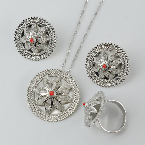 Ethiopian Silver sets - African Style Jewelry