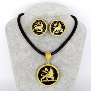 Lion of Judah Pendant - African Style Jewelry