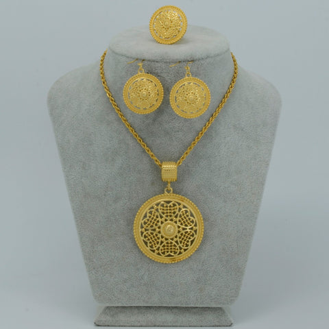 Habesha Jewelry Gold Color - African Style Jewelry