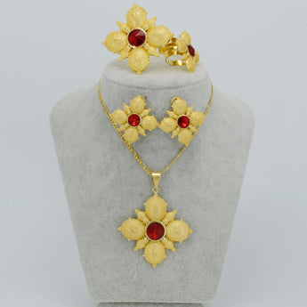 Ethiopian Cross Jewelry sets - African Style Jewelry
