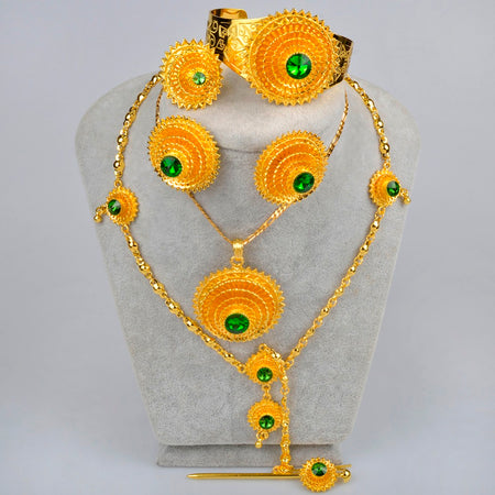 Ethiopian full Jewelry set - African Style Jewelry