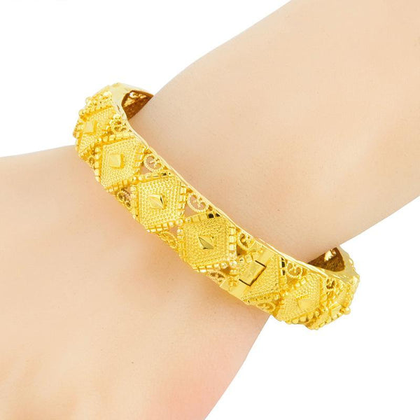 Top Quality Vintage Ethiopian Bangle for Women - African Style Jewelry