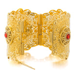 Ethiopian Luxury Big Bangle - African Style Jewelry