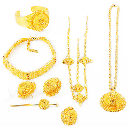 Ethiopian Luxury Sets for Women - African Style Jewelry