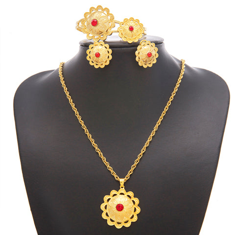 A wonderful Habesha jewelry set - African Style Jewelry