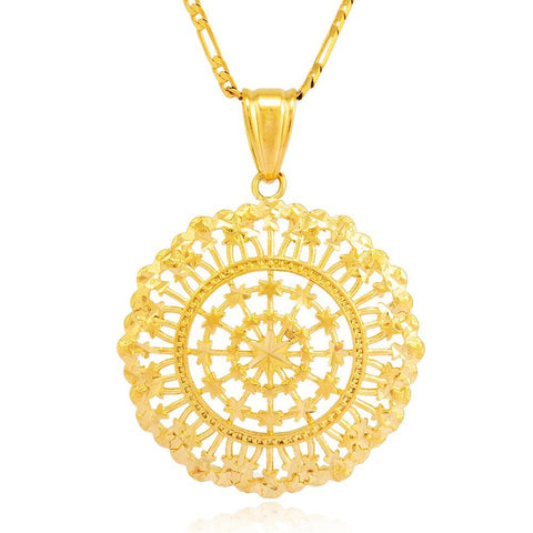 Unisex Gold Color Necklaces & pendants - African Style Jewelry