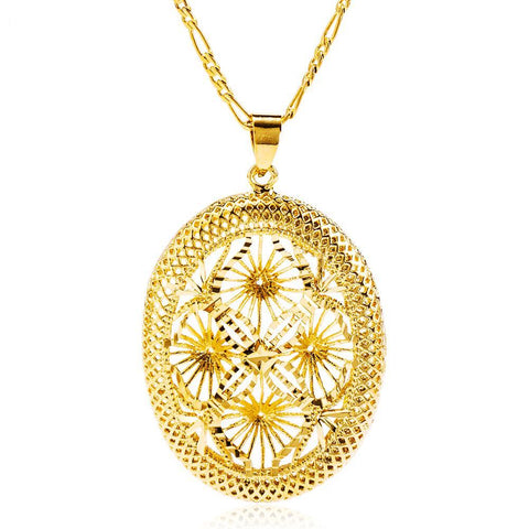 Classic Slide flower pendant Jewelry - African Style Jewelry