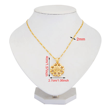 African Gold Color Necklaces&pendants - African Style Jewelry