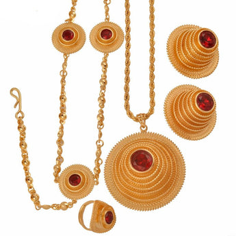 High Quality Ethiopian Jewelry sets - African Style Jewelry