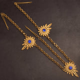 Habesha Headpiece Gold Color for Women - African Style Jewelry