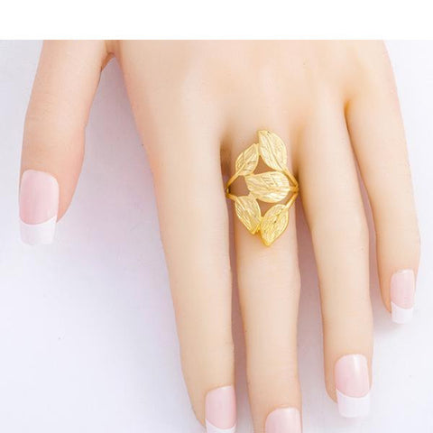 The floral lady ring - African Style Jewelry