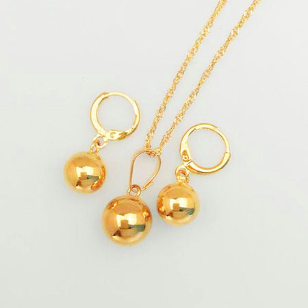Charm Round Ball Jewelry sets - African Style Jewelry