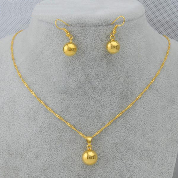 Ethiopian Gold sets - African Style Jewelry