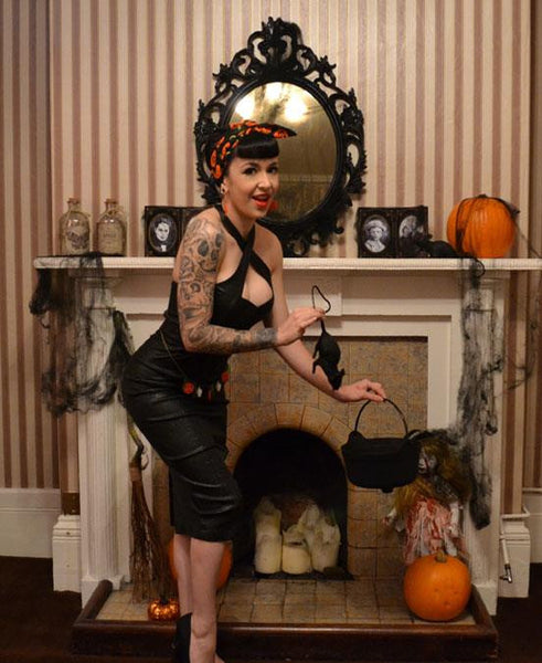 Halloween Pinup Style with Penny & Betty