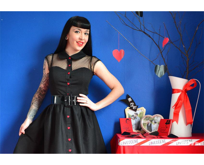 The Look of Love - Valentine's Day Style with the Valentine Dress