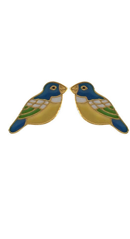 Colourful Bird Earrings