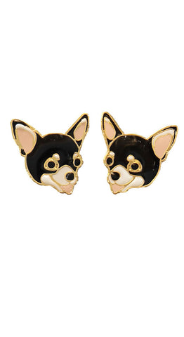 Dog Earrings Weekend Doll