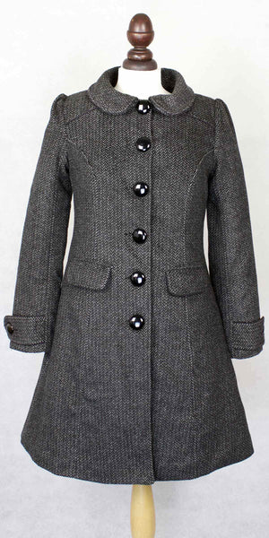 Doris Winter Coat With Faux Fur Collar - Weekend Doll