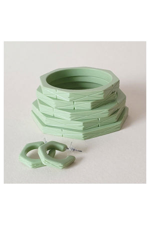 Lena Bangle Apple Green | 1940s & 1950s Style | Weekend Doll