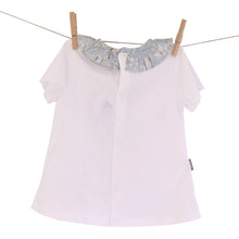 Babidu Floral Frill Collar T-Shirt and Matching Pants
