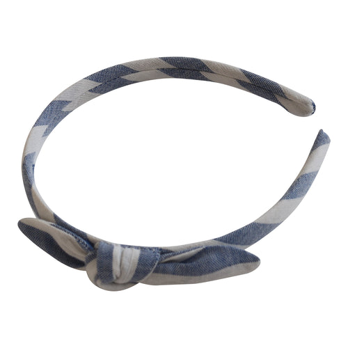 Paz Rodriguez Blue and White Headband
