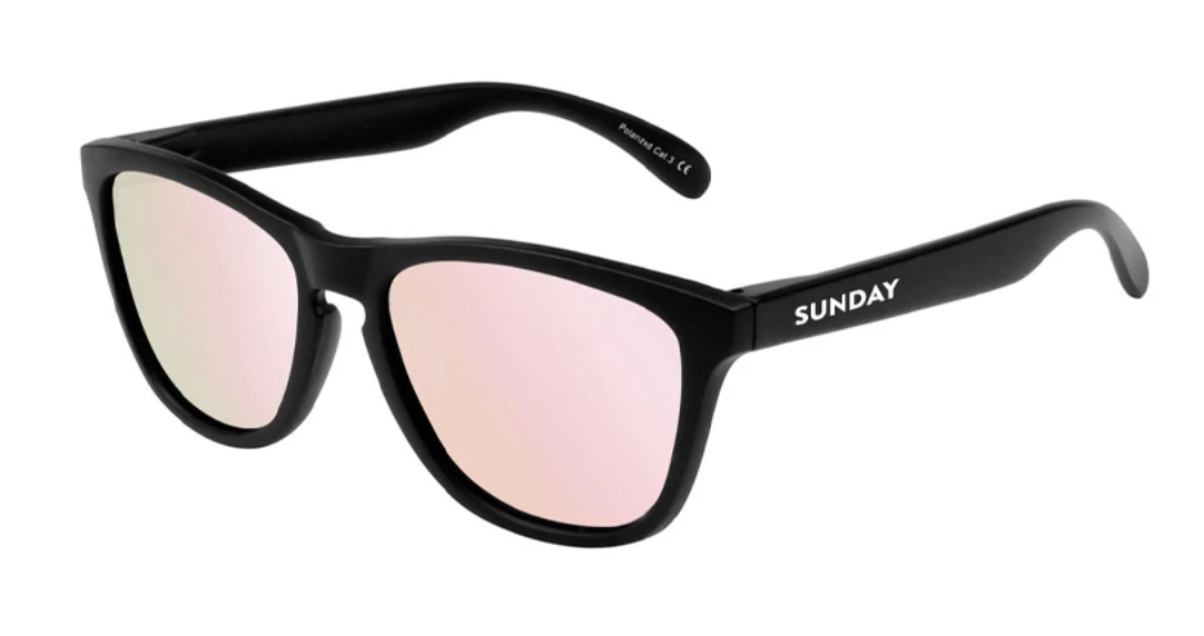 Sunday Shades: Carbon Matte - Rose Classic