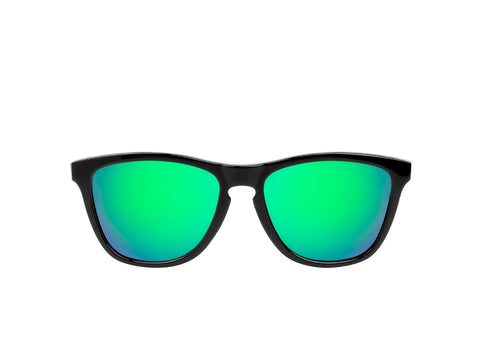Carbon Emerald Sunglasses - Sunday Shades