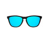 Image of Carbon Ice Blue Sunglasses - Sunday Shades