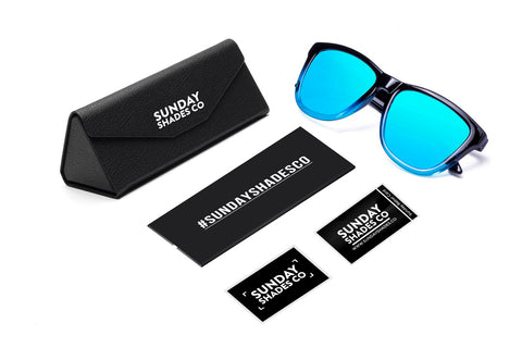 Fusion Ice Blue Sunglasses