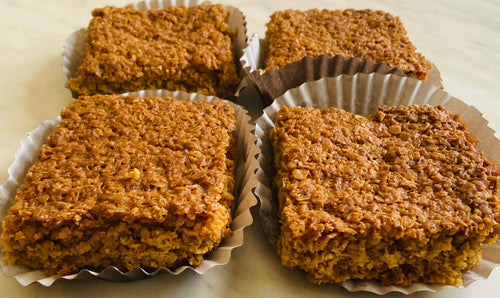 4 Salted Caramel Flapjacks