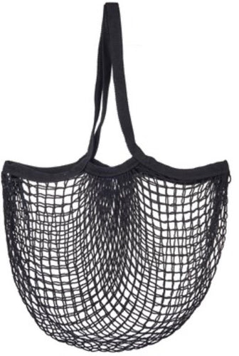 String Shopper Bag Black colour