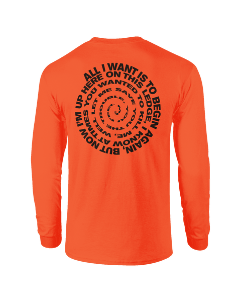 'Epiphany' Longsleeve T-Shirt (Orange)